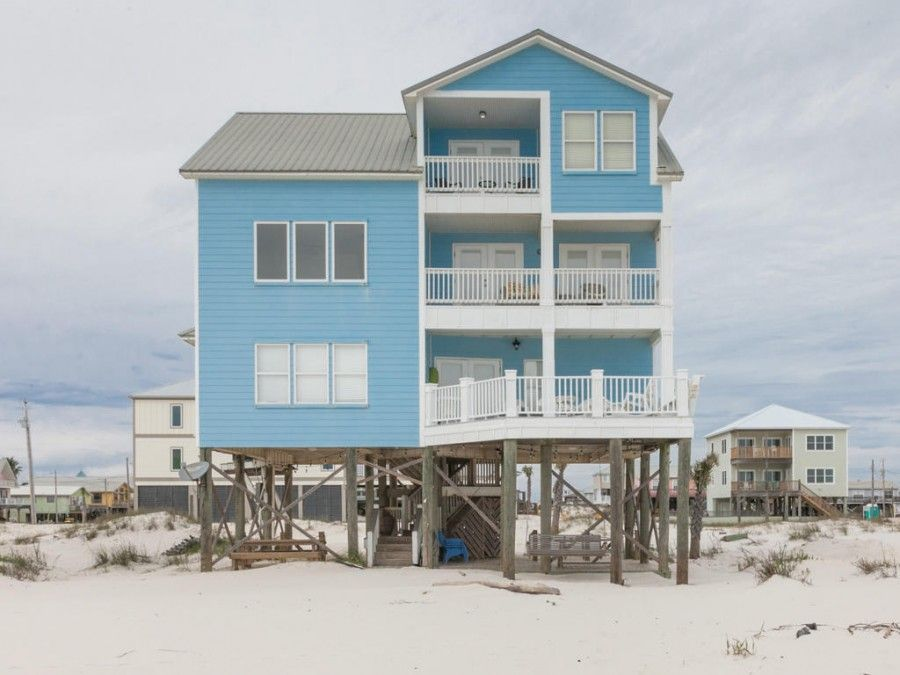 Big blue beach front rental in Gulf Shores