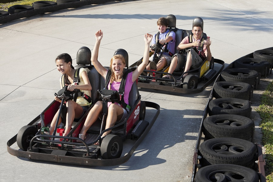 Go Karting is one of our favorite things to do during your Gulf Shores vacation