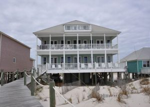 beachfront houses for rent fort morgan