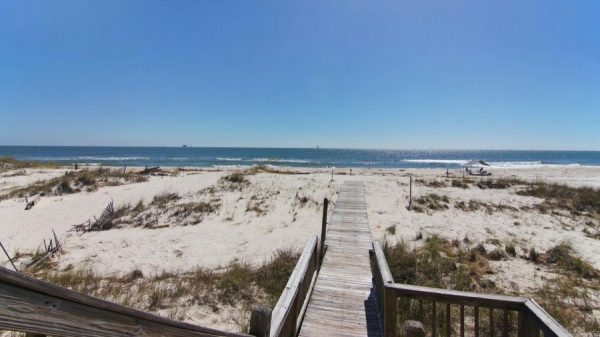 Stay in luxury when you stay at the Coast Soul Revival beachfront vacation rental in Gulf Shores.