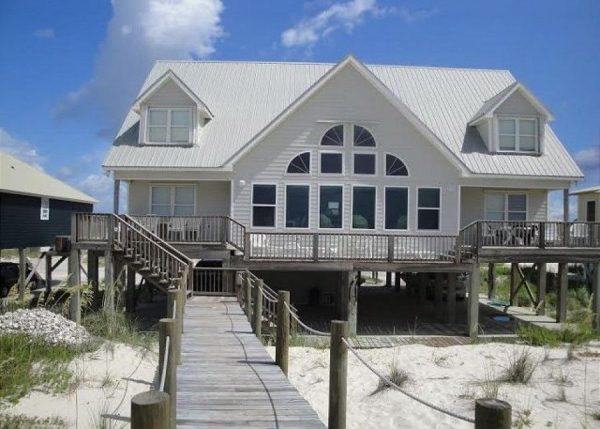 gulf shores al beachfront beach houses