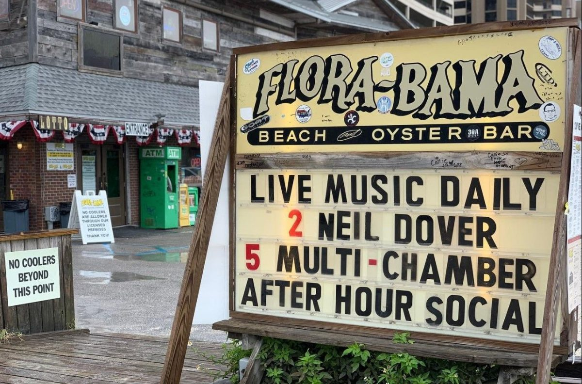 Flora-Bama Lounge and Oyster Bar is a Gulf Coast Mainstay