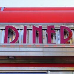 Diner Building Sign
