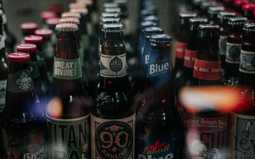 to go beer bottles